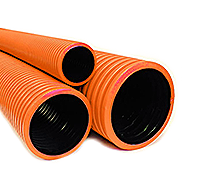 Полиэтиленовые гофрированные трубы для канализации в Рязани